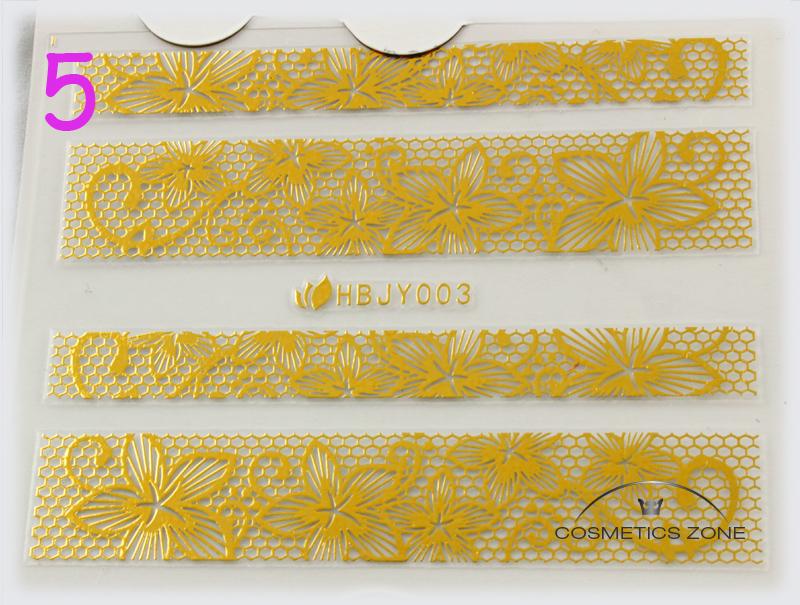 Naklejki 3D na paznokcie manicure Cosmetics Zone 664542384 www.cosmeticszone.pl