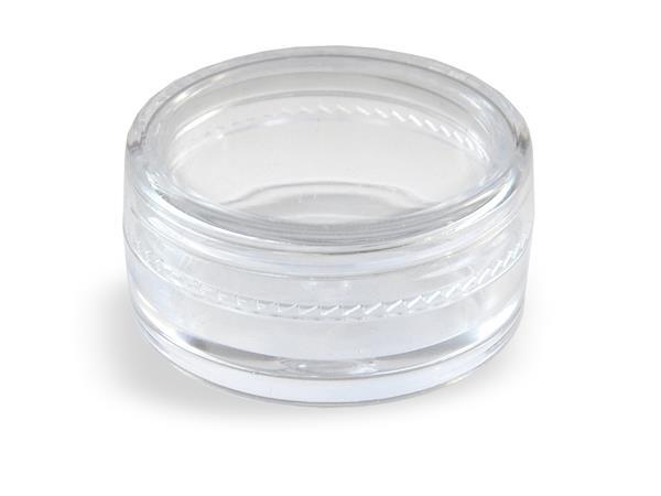 Pojemniczek na rzęsy brokat cyrkonie Cosmetics Zone 664542384 www.cosmeticszone.pl