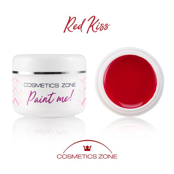 Paint Me Farbka UV LED Red Kiss Cosmetics Zone 664542384 www.cosmeticszone.pl