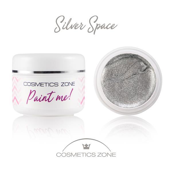 Paint Me Farbka UV LED Silver Space Cosmetics Zone 664542384 www.cosmeticszone.pl