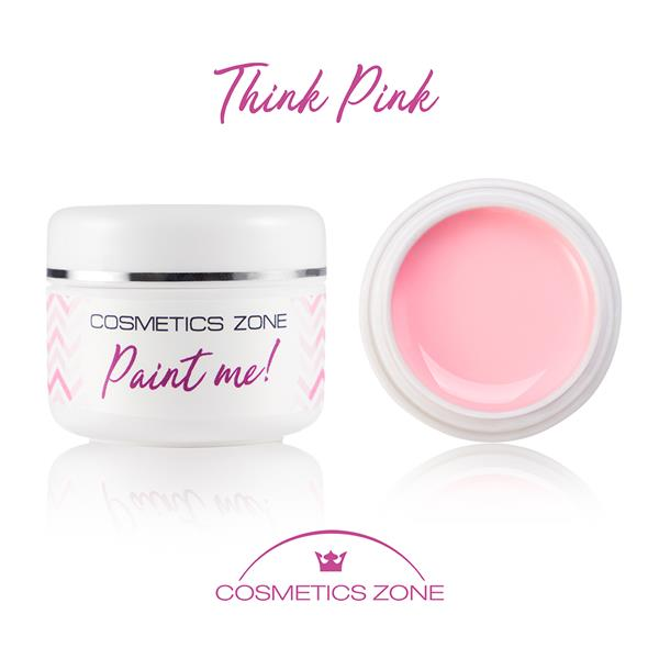 Paint Me Farbka UV LED Think Pink Cosmetics Zone 664542384 www.cosmeticszone.pl