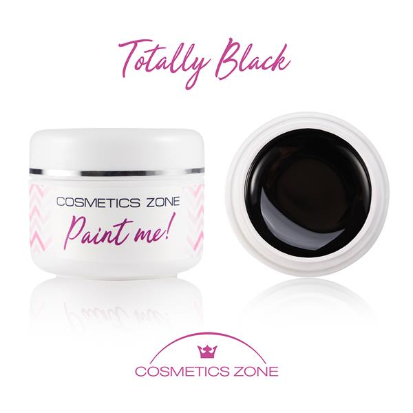 Paint Me Farbka UV LED Totally Black Cosmetics Zone 664542384 www.cosmeticszone.pl
