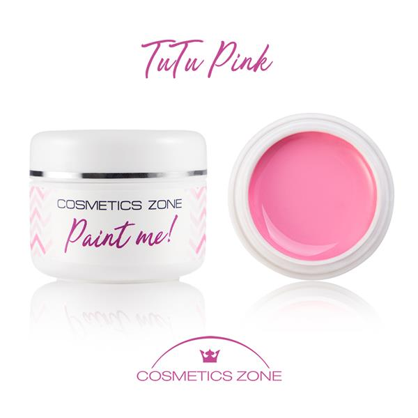 Paint Me Farbka UV LED Tutu Pink Cosmetics Zone 664542384 www.cosmeticszone.pl