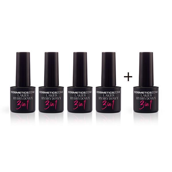 Profesjonalny zestaw Lakier hybrydowy 15ml kolor Cosmetics Zone 664542384 www.cosmeticszone.pl