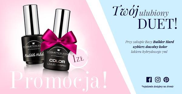 Lakier hybrydowy Cosmetics Zone 664542384