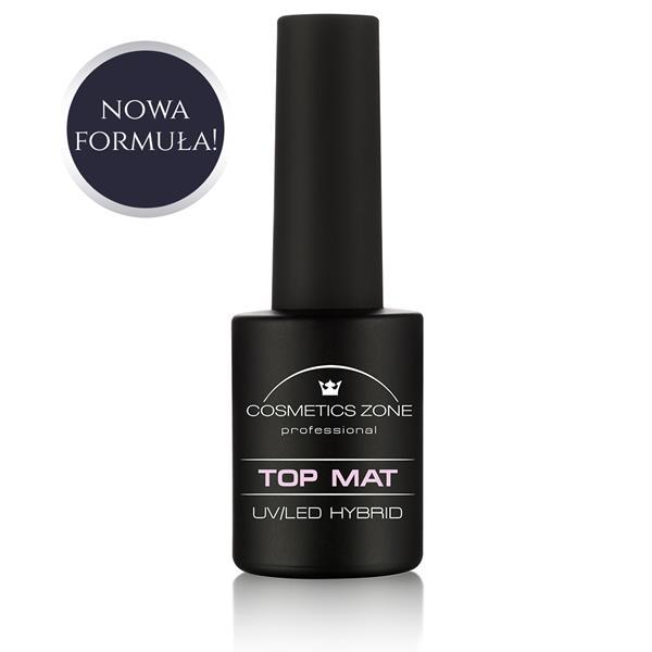Lakier hybrydowy TOP MAT Cosmetics Zone 664542384