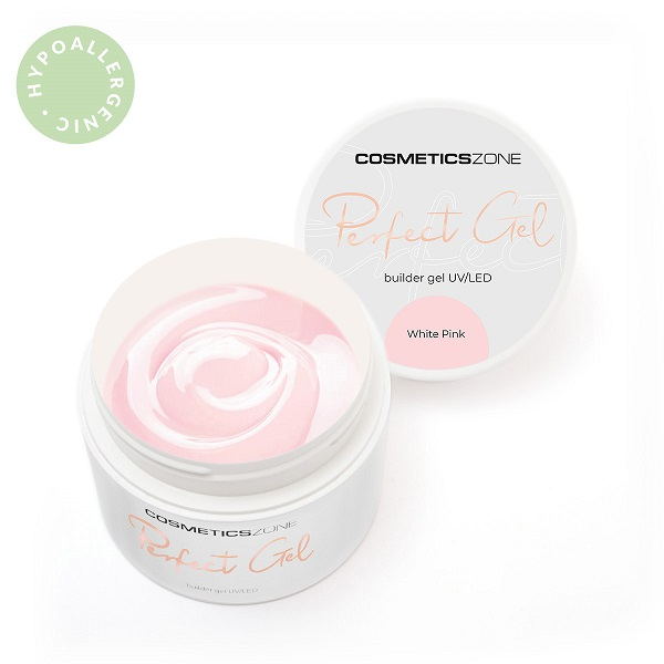 Żel UV LED White Pink Cosmetics Zone 664542384 www.cosmeticszone.pl