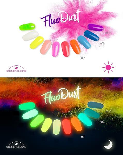Fluo Dust Pyłek Fluorescencyjny Cosmetics Zone 664542384 www.cosmeticszone.pl