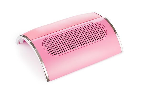Pochłaniacz pyłu różowy trzy wentylatory Cosmetics Zone 664542384 www.cosmeticszone.pl