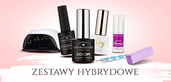Zestawy hybrydowe UV i LED Cosmetics Zone