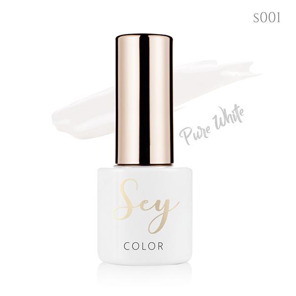 Lakier hybrydowy 7ml SEY s001 Pure White 664542384