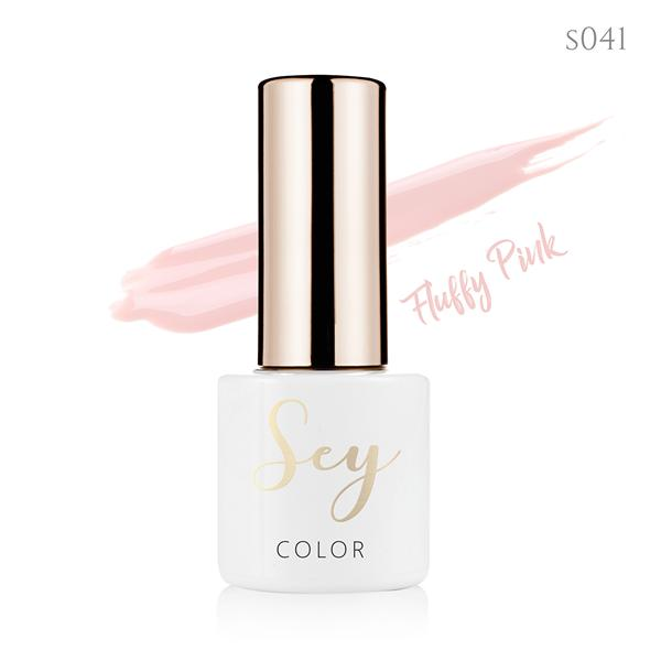 Lakier hybrydowy 7ml SEY 041 Fluffy Pink 664542384