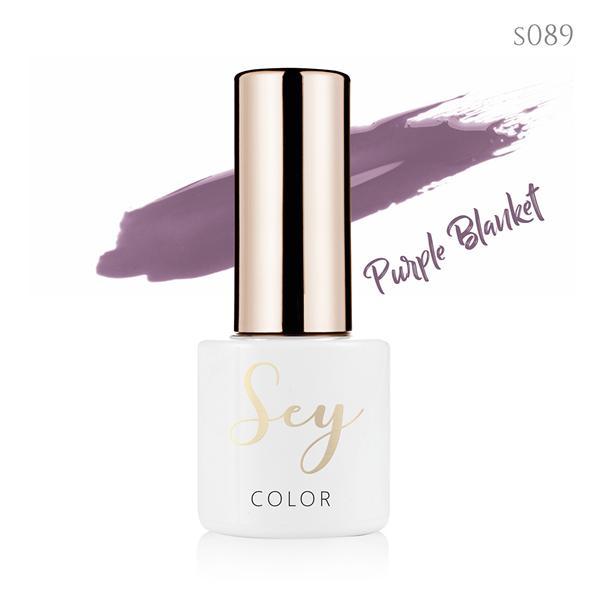 Lakier hybrydowy 7ml SEY s089 Purple Blanket 664542384