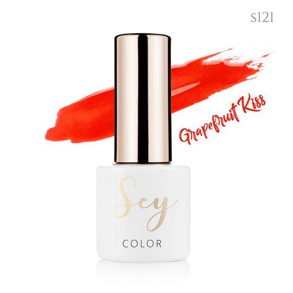 Lakier hybrydowy 7ml SEY s121 Grapefruit Kiss 664542384