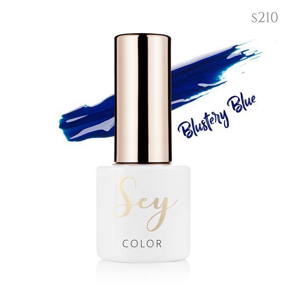 Lakier hybrydowy 7ml SEY s210 Blustery Blue 664542384