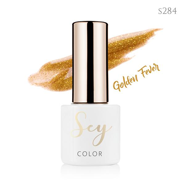 Lakier hybrydowy 7ml SEY s284 Golden Fever 664542384