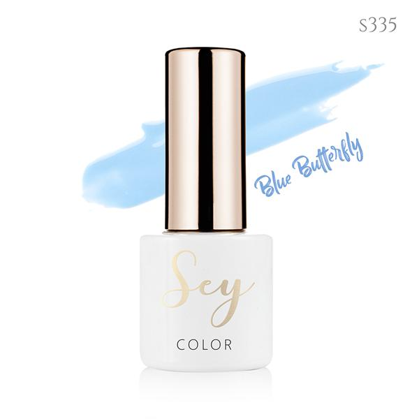 Lakier hybrydowy 7ml SEY s335 Blue Butterfly 664542384
